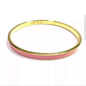 Kate Spade 🎀 ooh la la idiom pink bangle bracelet